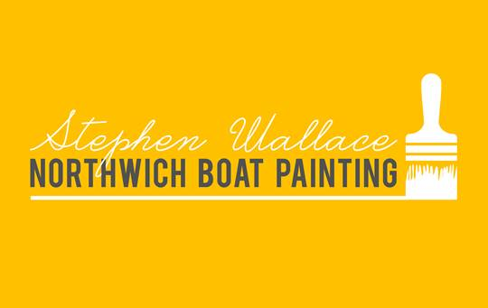 Northwich Boat Painting